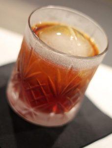Großaufnahme des Cocktails Bottecchia